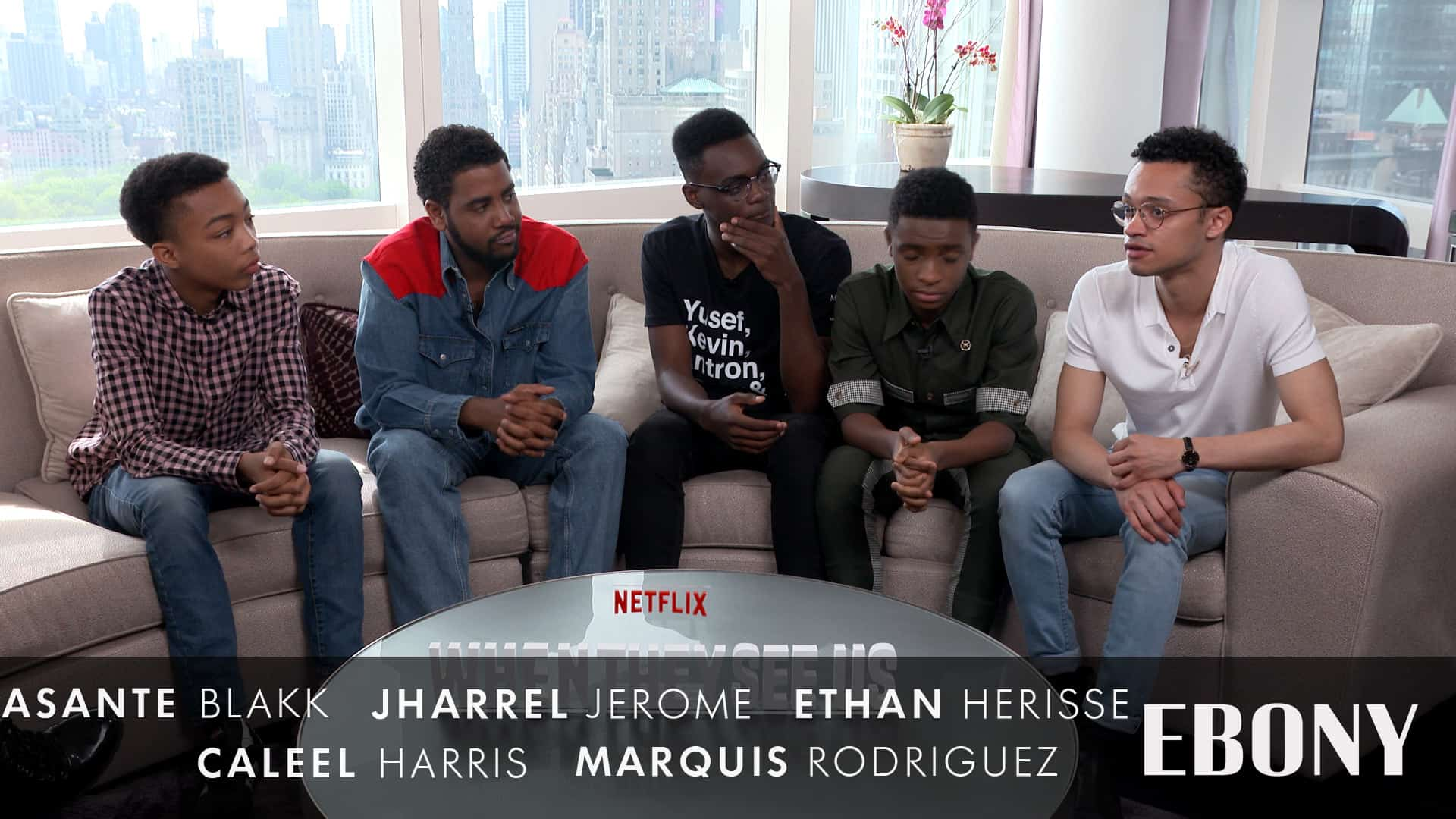 Cast of 'When They See Us' On The Real Central Park 5 & Working With