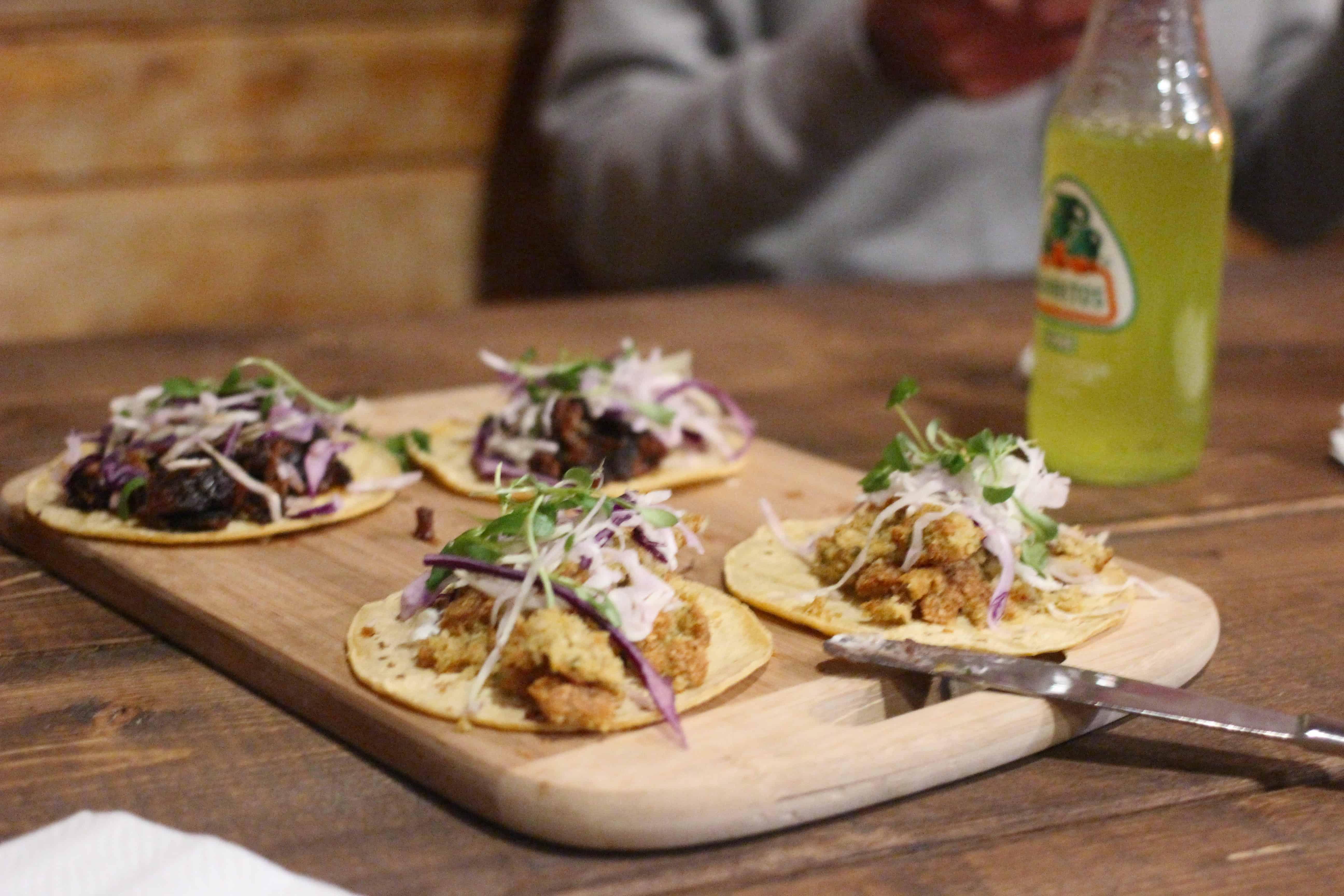 [RECIPE] Fish Tacos with Cilantro Lime Slaw • EBONY
