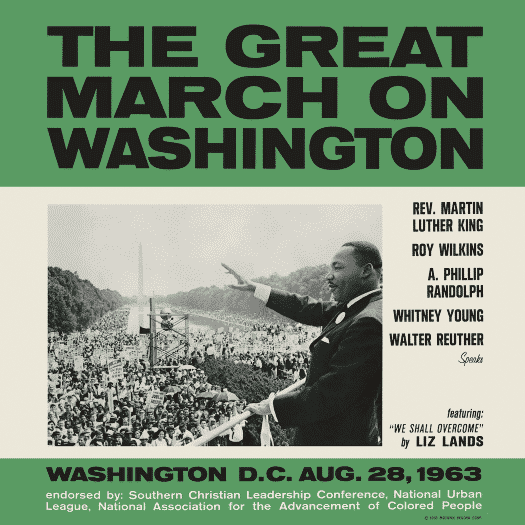MOTOWN RECORDS CELEBRATES THE LEGACY OF MARTIN LUTHER KING, JR. & THE GREAT MARCH ON WASHINGTON