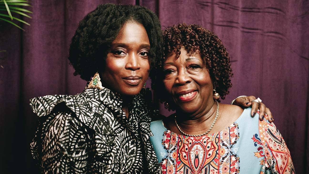 Delphine Fawundu and Mom Titi Fawundu portrait jpg IN OUR MOTHERS GARDENS copy.